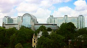 The building of the European Parliament in Bru...