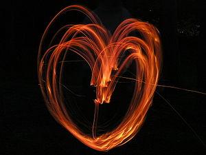 Description: Flaming heart Date: 2005-08-23 (I...