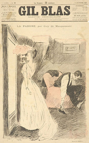 Cover of Gil Blas Illustré, illustration for t...
