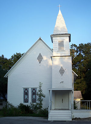 : Old United Methodist Church building