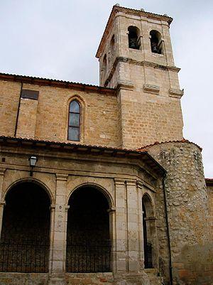 English: Iglesia de Santa Cruz, en Medina de P...