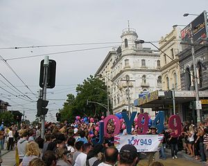 2008 Pride March, St. Kilda, Victoria.