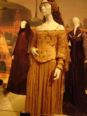 English: Padme's Meadow Dress: taken at the &q...