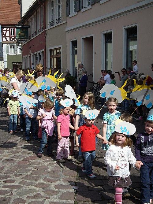 Sonnen und Wolken Kindertagesstätte Römernest Ladenburg