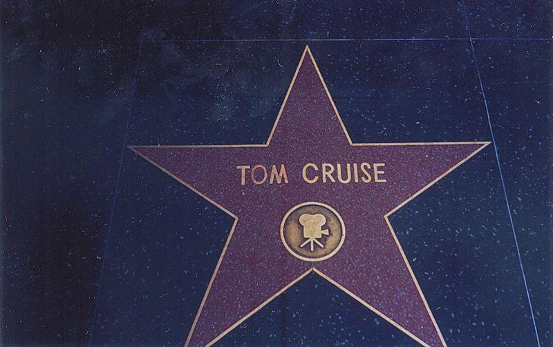 Ficheiro:Tom Cruise Hollywood Walk of Fame.JPG