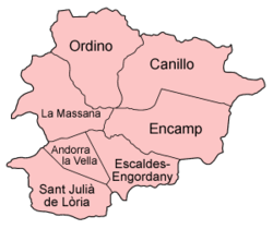 Parroquias de Andorra