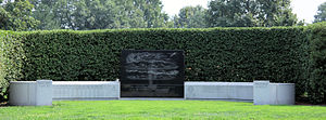 English: Armored Forces Memorial on the south ...