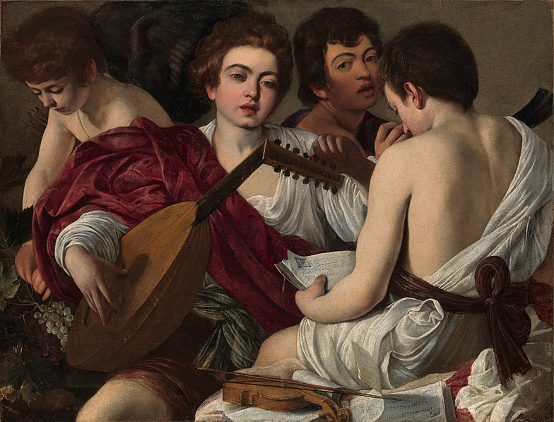 File:Caravaggio - I Musici.jpg
