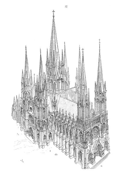 Cathedral dreams spires cogito credo petam for Architecture gothique