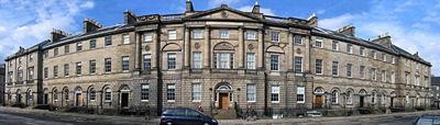 Bute House, residencia oficial del Primer Ministro de Escocia, ubicada en Charlotte Square.