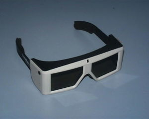 A pair of CrystalEyes liquid crystal shutter g...