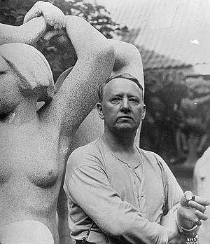 Norwegian sculptor Gustav Vigeland.