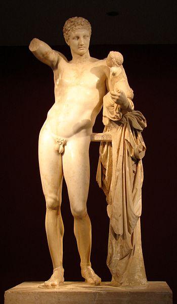 Praksyteles, Hermes (Muzeum Ateńskie)