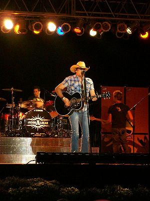English: Jason Aldean at the Great Frederick F...