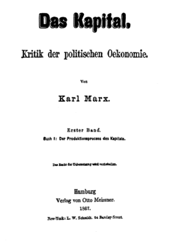El Capital, de Karl Marx