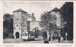 Postkarte, datiert 7.7.1918. Beschriftung: &qu...