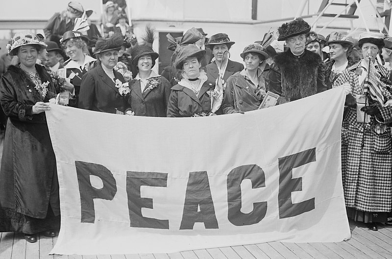 women's peace party, 1915