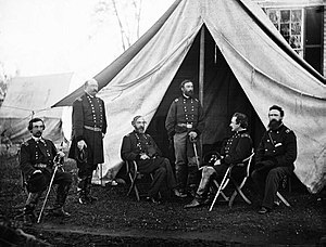 Commanders of the Army of the Potomac, Gouvern...