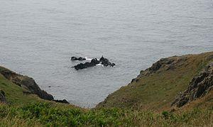 """Reefs at Porth y Dwfr Porth y Dwfr means """"..."""