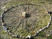 English: A ritual circle. Used on a Wikipedia ...