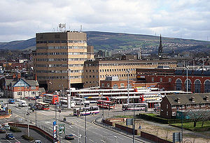 Tameside Council Offices and Ashton Bus Statio...