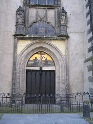Commemorative doors