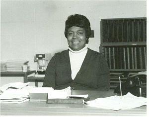 English: Picture of Bertha Calloway