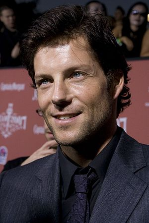 Jamie Bamber, English-American actor. Taken at...