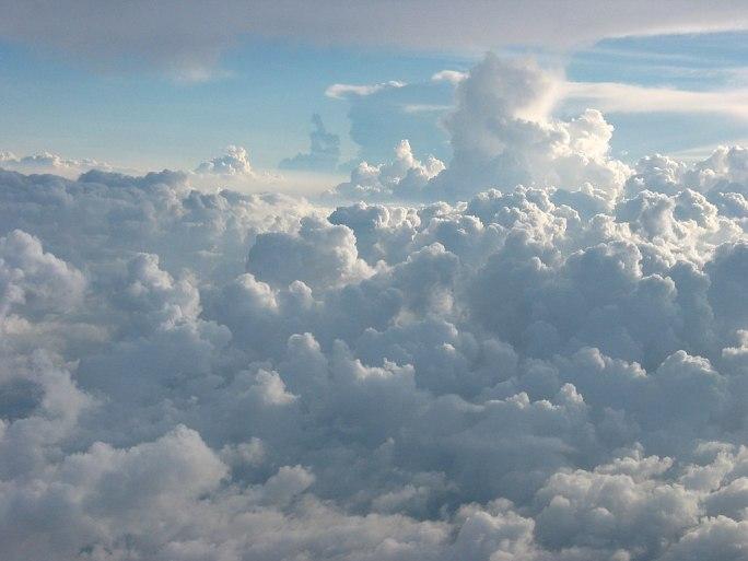 Cumulus Clouds Over Jamaica