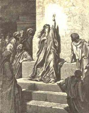 Gustave Dore's interpretation of the prophetes...