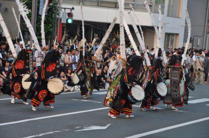 Deer dance of Tono Town, Iwate, Japan