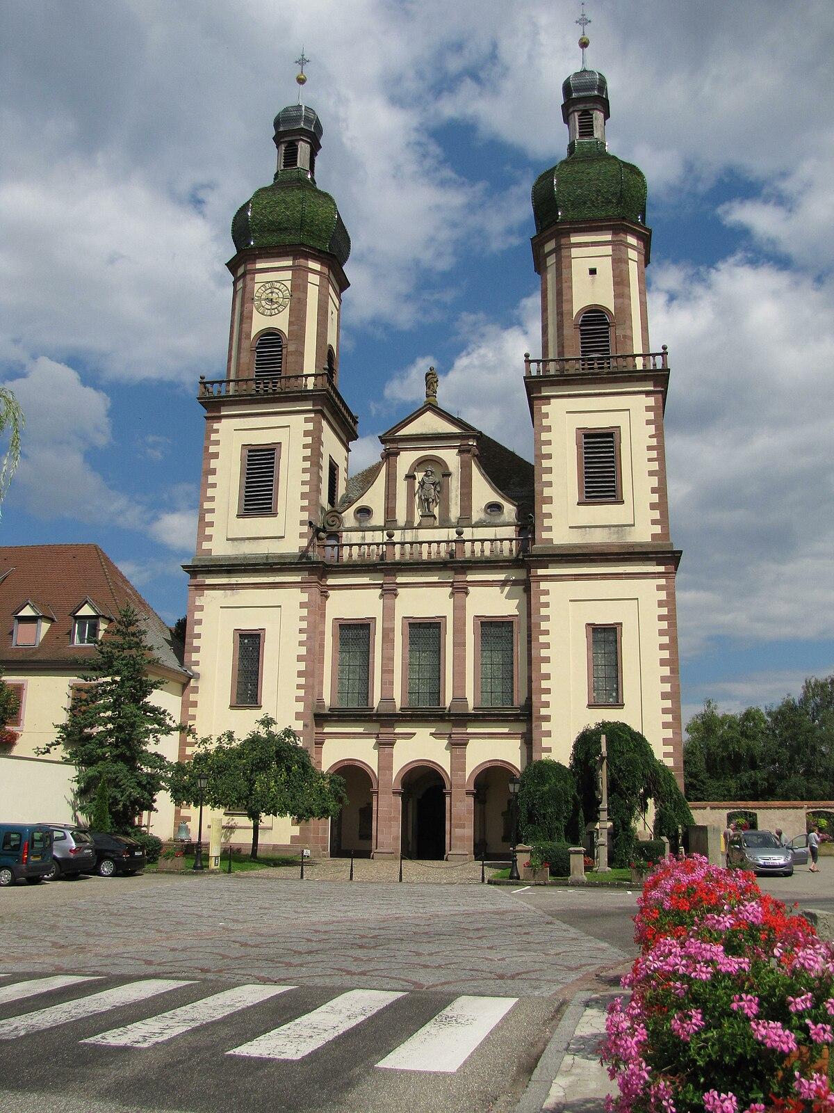 Church Of Saint Maurice Ebersmunster Wikipedia