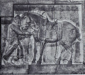 One of Emperor Taizong's horses from Zhaoling