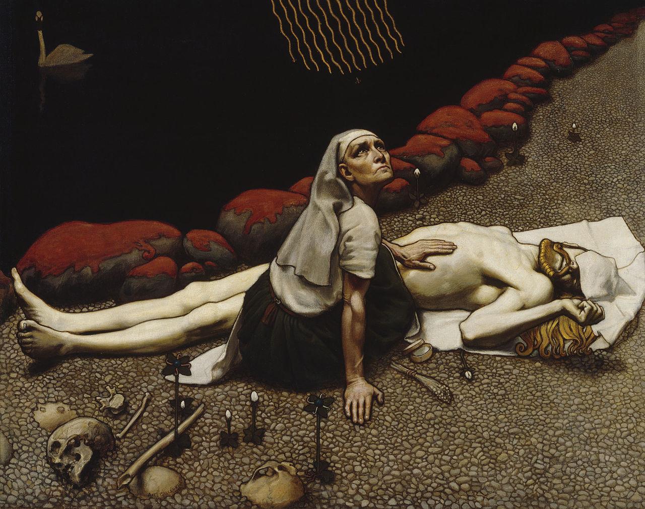 La madre de Lemminkäinen (Lemminkäisen äiti, 1897).