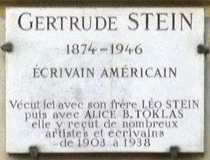 Français : 27 rue de Fleurus, Paris, où vécut ...