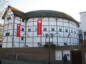 English: Globe Theatre, London, Great Britain ...
