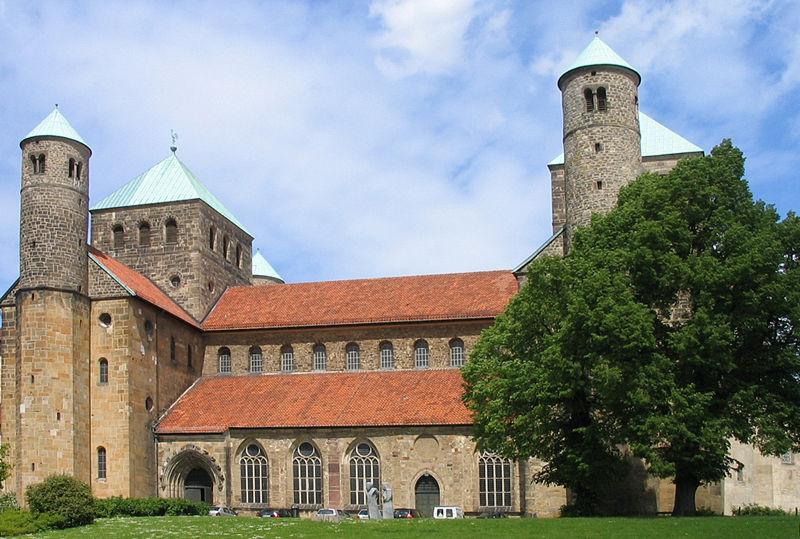 kościół św. Michała w Hildesheim - bryła