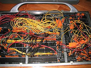 IBM 402 Accounting Machine control panel     I...