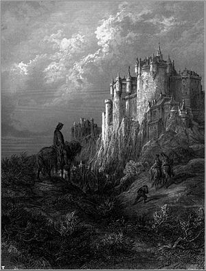 Camelot, an illustration for Idylls of the King