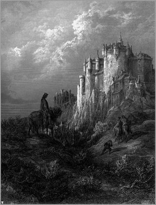 "Gustave Doré's illustration of Lord Alfred Tennyson's ""Idylls of the King"", 1868"