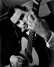 Julian Bream - arpeggio ascendente Bach