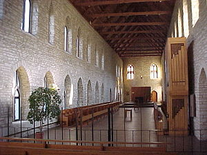 Chapel at New Melleray Abbey, Peosta, Iowa