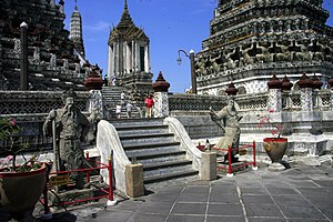 English: Temple of Dawn (Wat Arun), Bangkok, T...