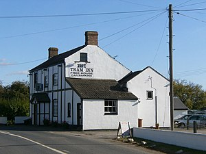 English: The Tram Inn, Allensmore,Hereford The...