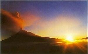 Volcán Tungurahua Ecuador