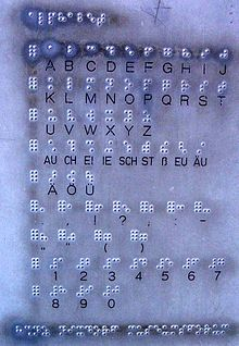 German Braille Wikipedia