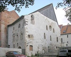 Die Alte Synagoge in der Michaelisstraße in Er...