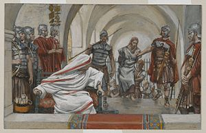 Jesus Led from Herod to Pilate