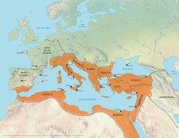 Expansion del Imperio Bizantino