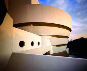 English: Solomon R. Guggenheim Museum in New Y...
